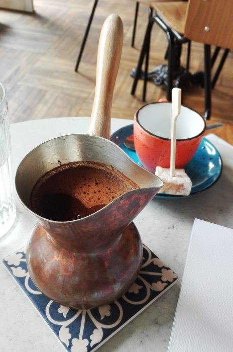 Café turco en Zagreb