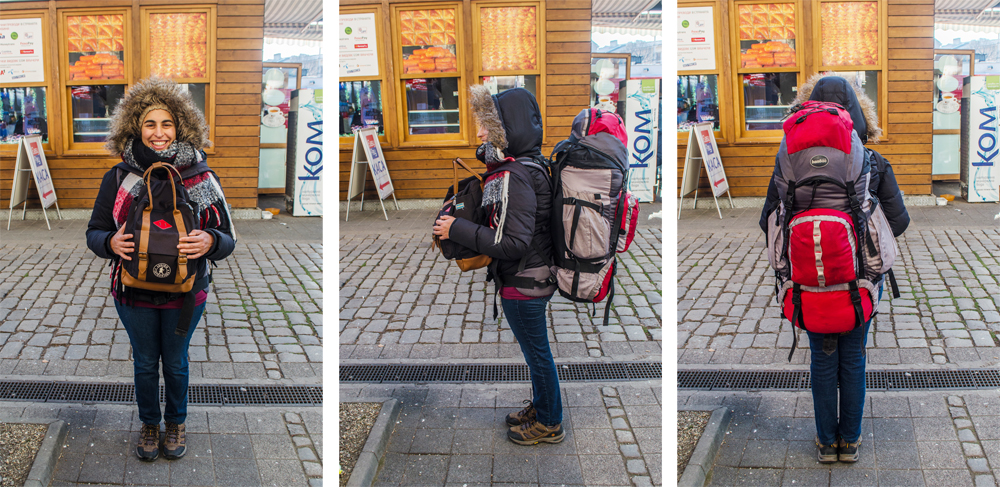 Mi mochila y yo